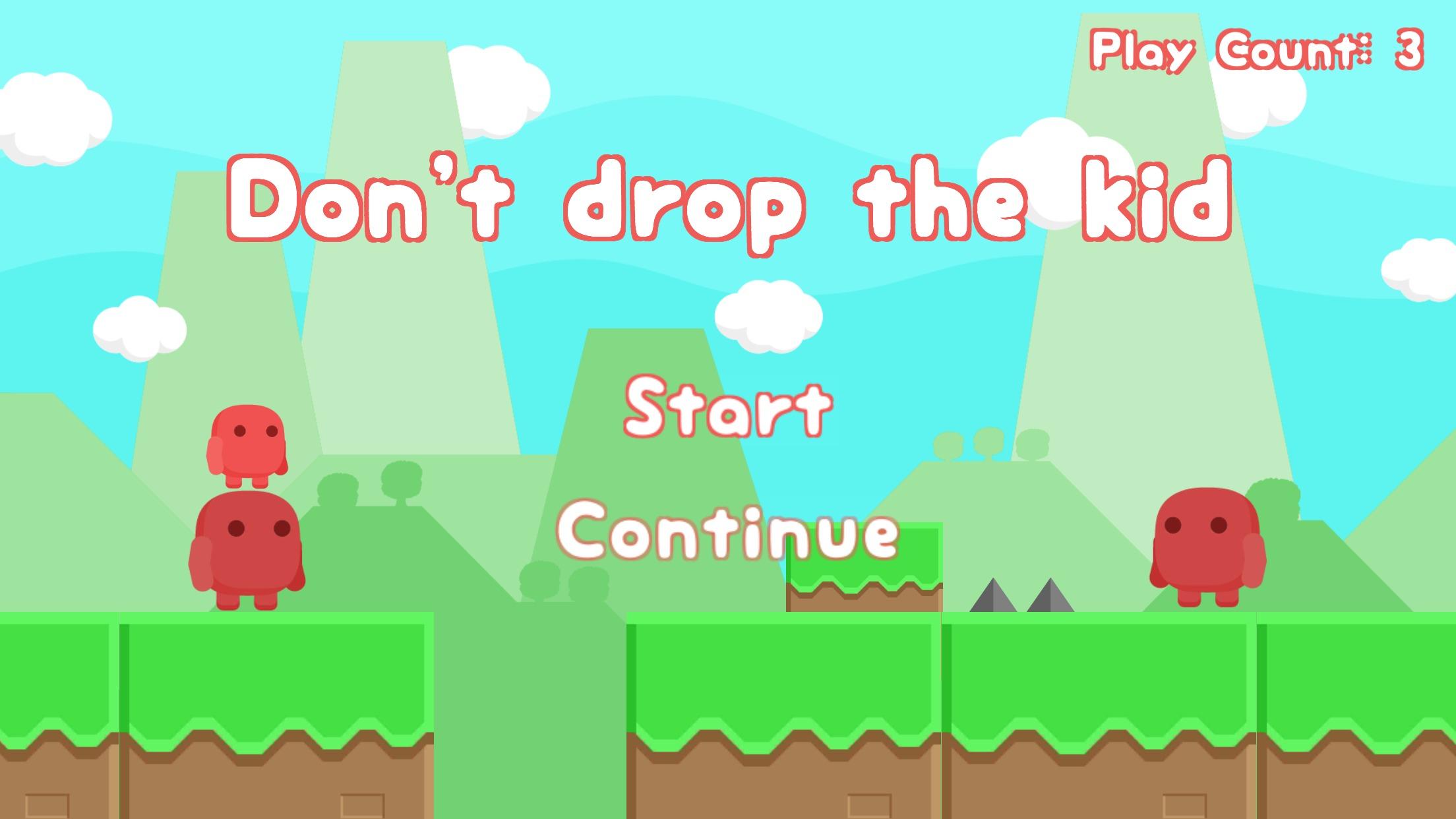 高難易度バランスアクションゲーム「Don't Drop!」をリリースしました。